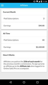 Online Sales Pro apk screenshot