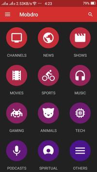 TV Mobdro Live Guide poster