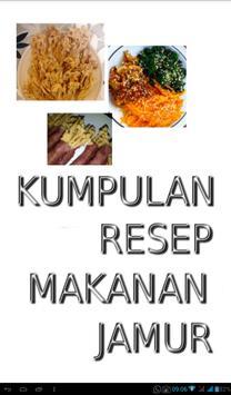Kumpulan Resep Makanan Jamur poster