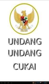 Undang-Undang Cukai poster