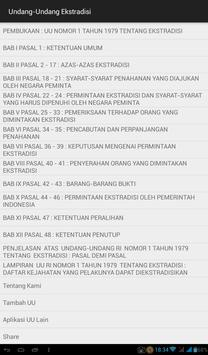Undang-Undang Ekstradisi apk screenshot