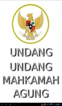 Undang-Undang Mahkamah Agung poster