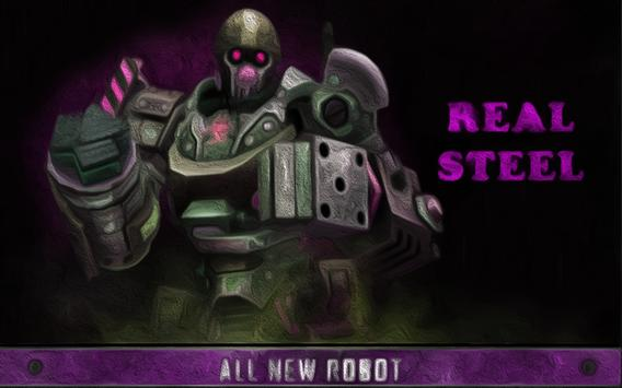 New REAL STEEL CHAMPIONS Guide poster