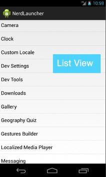 Nerd Launcher for Home Screen apk screenshot