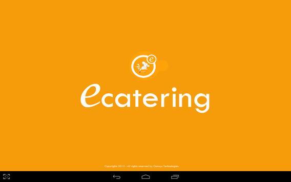 Waiter app or restaurant app poster