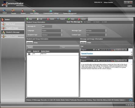 Eduspur's Student Communicator apk screenshot