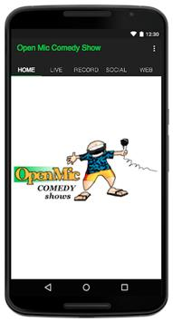 Open Mic Comedy Show poster