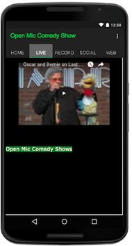 Open Mic Comedy Show apk screenshot
