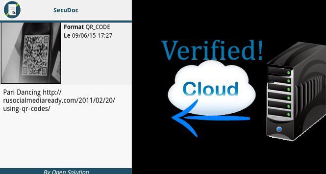 SecuDoc Reader apk screenshot