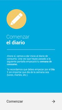 Diario de Consumo DEMO apk screenshot