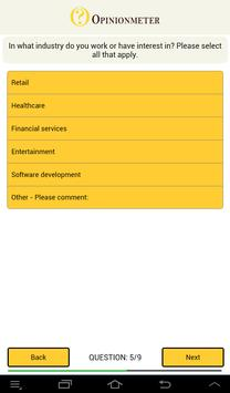 TouchPoint Surveys apk screenshot