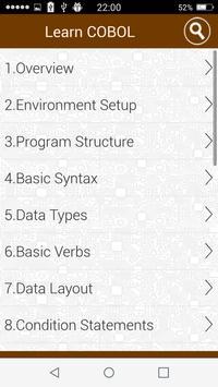 Mainframe tutorials apk screenshot