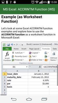 Guide Functions in Excel apk screenshot