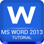 Tutorial for MS Word Free icon