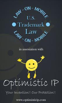 US Trademark Law (37 CFR) poster