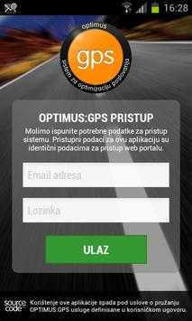 optimus GPS poster