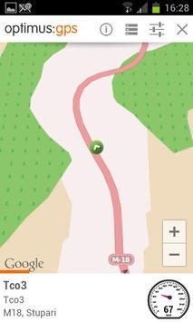optimus GPS apk screenshot