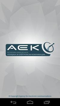 AEK Kalkulator poster
