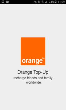 Orange Top-Up poster