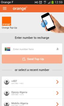 Orange Top-Up apk screenshot