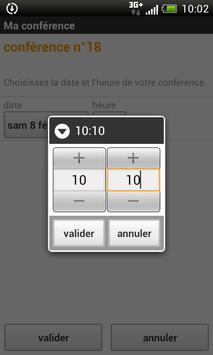 Appels Groupés apk screenshot