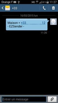 EZSender apk screenshot