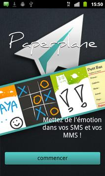 Paperplane poster