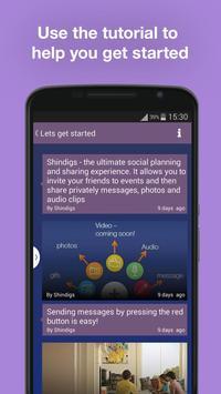Shindigs apk screenshot