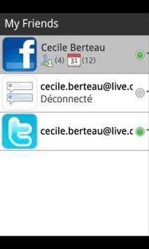 My Friends desinstall apk screenshot
