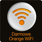 Darmowe Orange WiFi icon
