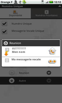 Numéro Unique apk screenshot