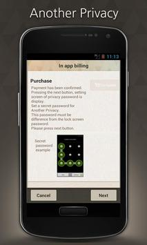 Another Privacy(Secret LOCKS) apk screenshot