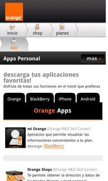 Orange Dominicana mShop apk screenshot
