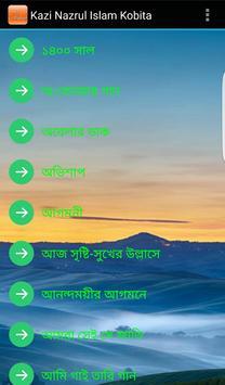 নজরুল ইসলাম : ২৩ টি কবিতা poster
