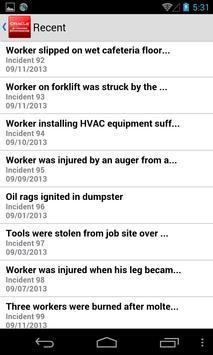 Health & Safety for JDE E1 apk screenshot