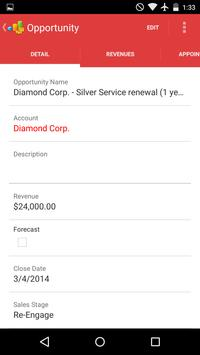 CRM On Demand Connected Mobile apk screenshot