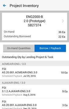 Project Manufacturing for EBS apk screenshot