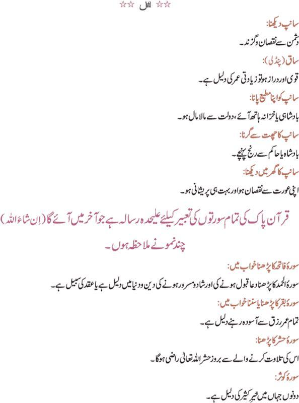 khawab nama hazrat yousuf in urdu pdf free download