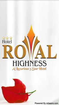 HOTEL ROYAL HIGHNESS poster