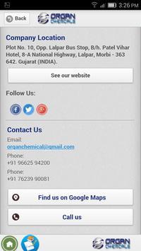 Organ Chemicals apk screenshot