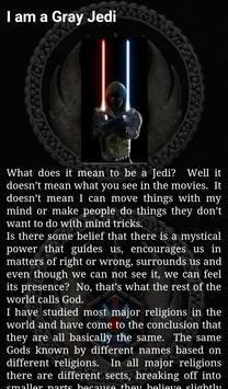 Order of the Gray Jedi apk screenshot