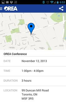 OREA apk screenshot
