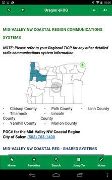 Oregon eFOG apk screenshot