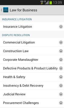 ORS solicitors apk screenshot