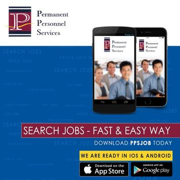 PPSJOB – Fast & Easy JOBSITE. apk screenshot