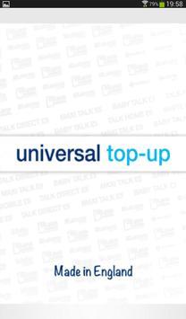 universaltop-up apk screenshot