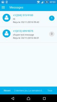 Auto Text Driver French apk screenshot
