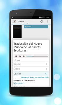 JW Audio Bible - MultiLanguage apk screenshot