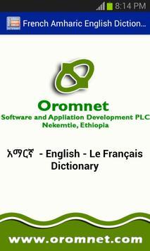 Amharic French Eng Dictionary apk screenshot