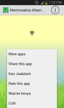 Mammaaksa Afaan Oromoo apk screenshot
